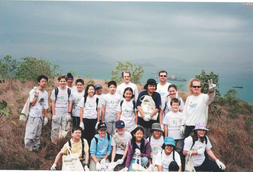Forest Maintenance with Island School